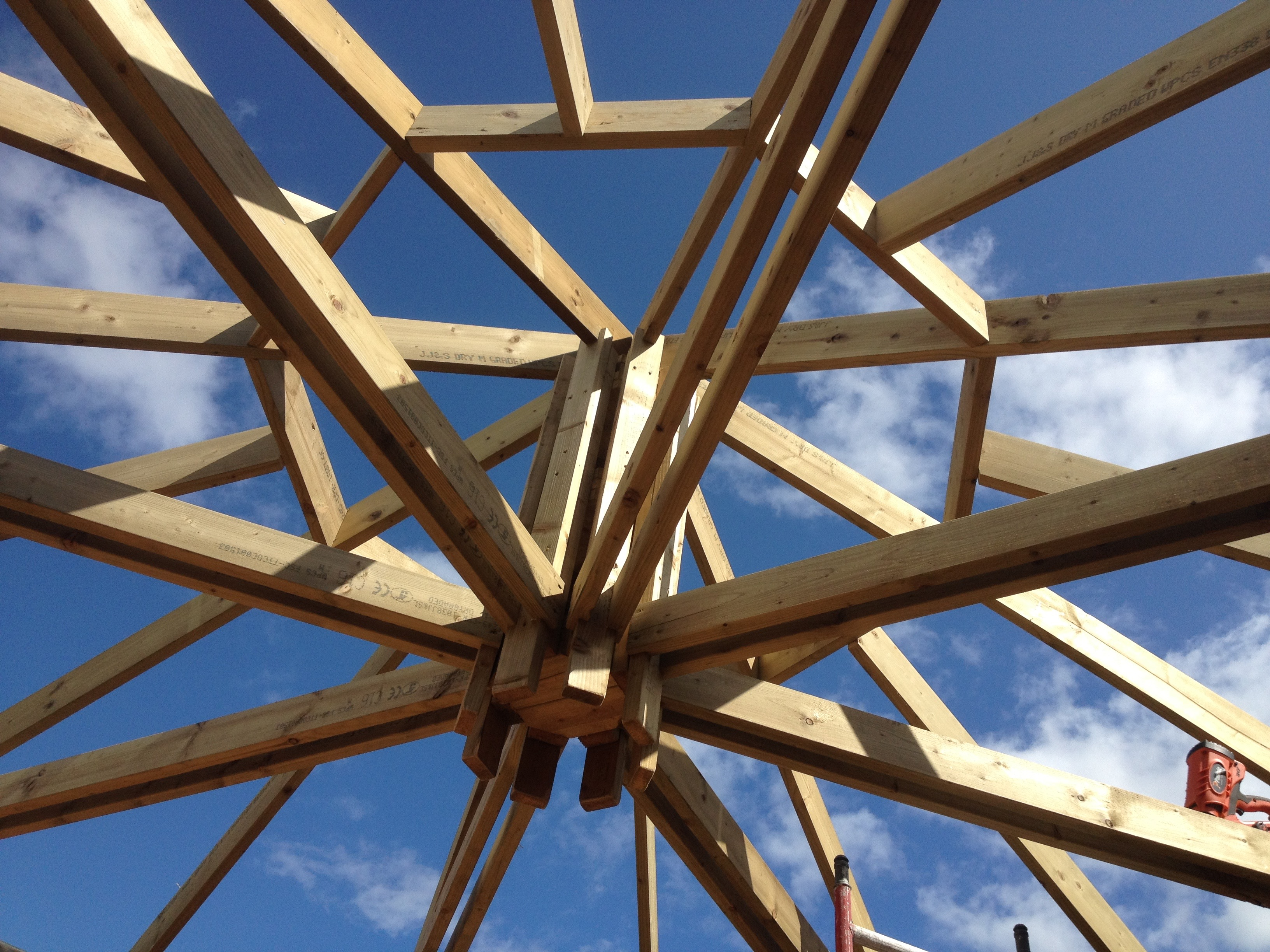 Roof Detail Yurts